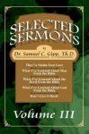 Selected Sermons - Three