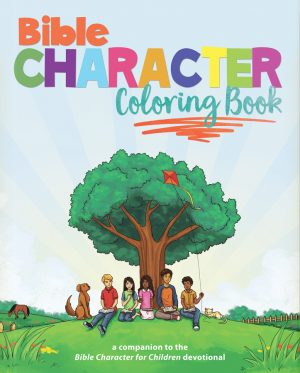 BIBLE CHARACTER COLORING BOOK