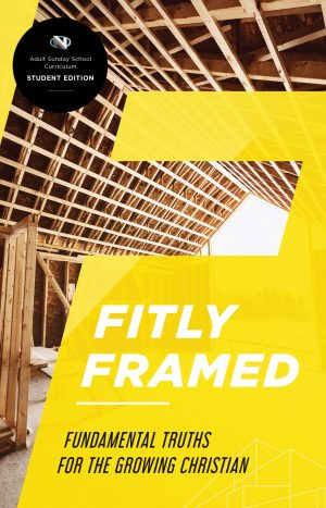 Discipleship: Fitly Framed Student Book Cover